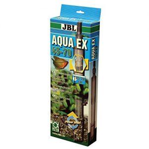 JBL Aqua Ex Set 45 – 70 cm Höhe, Bodenreiniger für Aquarien mit automatischer Ansaugvorrichtung